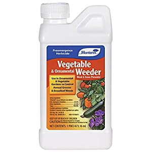 Monterey Vegetable and Ornamental Weeder Pre-Emergent Herbicide Concentrate - 16 Ounce