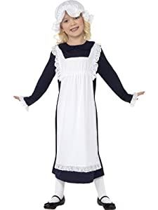 Victorian Fancy Dress Childrens Fancy Dress Victorian Poor Girl Costume Small Age 4-6