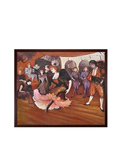 Henri de Toulouse-Lautrec Marcelle Lender Dancing In The Bolero In Chilperic, 1895 Framed Hand-Paint...