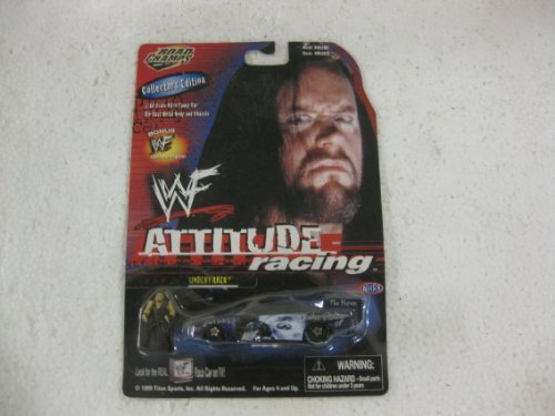 WWF Attitude Racing The Undertaker Nitro Funny Car With Bonus Collector Figure