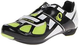 Pearl Izumi - Ride Men\'s Race RD III Cycling Shoe,Black/White,39 EU/6.1 D US