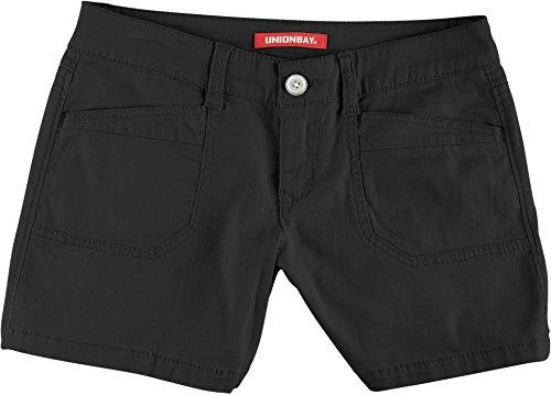 Unionbay Juniors Darcy Solid Shorts 9 Black
