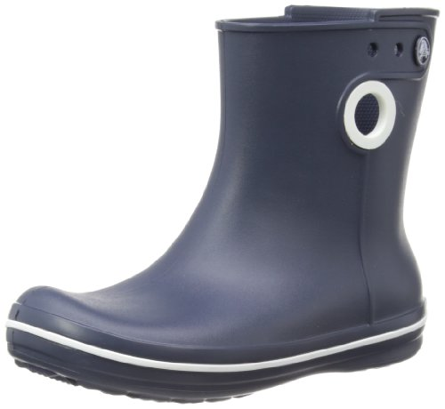 Crocs Womens Jaunt Shorty Wellington Boots 15769-410-460 Navy 6 UK, 39 EU, 8 US, Regular