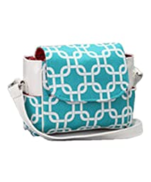 Caught Ya Lookin\' Small Diaper Bag, Turquoise