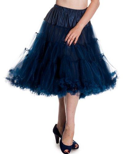 "Hell Bunny Marineblau 25 ""Petticoat bestellen"