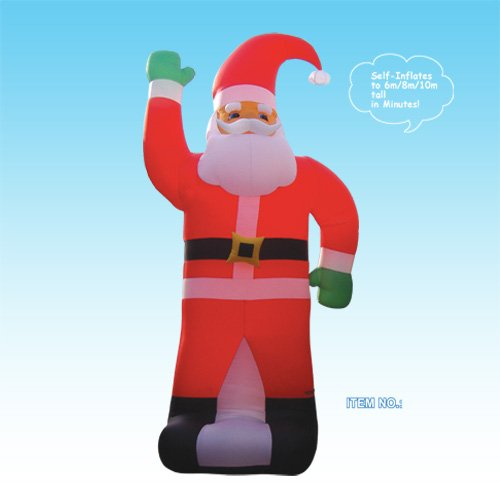 Christmas Inflatable Huge Santa Claus
