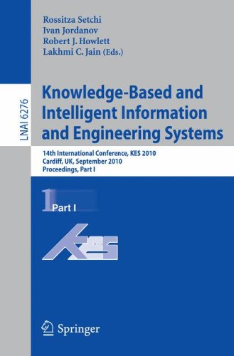 Knowledge-Based and Intelligent Information and Engineering Systems: 14th International Conference, KES 2010, Cardiff, UK, September 8-10, 2010, Proceedings, Part I