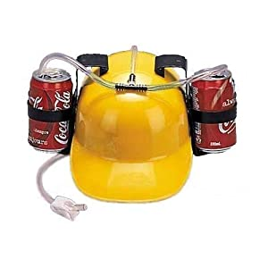 Can You Imagine Drink Hat, Yellow
