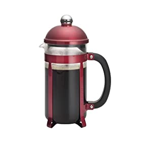 Candy Apple Red French Press
