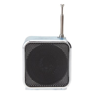 Mm Ks-302 Hi-Fi Stereo Music Micro Tf/Usb Fm Speaker , Black