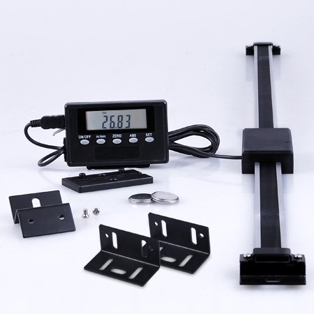 Professional 12″ Light Weight Lathe Milling Machine Remote DRO Digital Readout Scale image