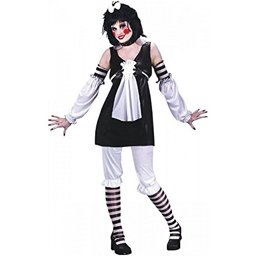 Teen Goth Rag Doll Ann Gothic Costume Size 0-9 Juniors