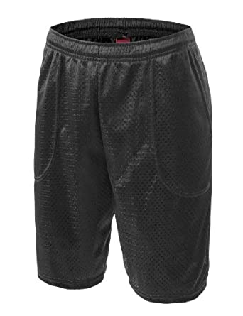 Buy 9XISBASIC for Mens Active Mesh Sports Shorts w  Pocket (BigSize Avail. upto 5XL) by 9XISBASIC