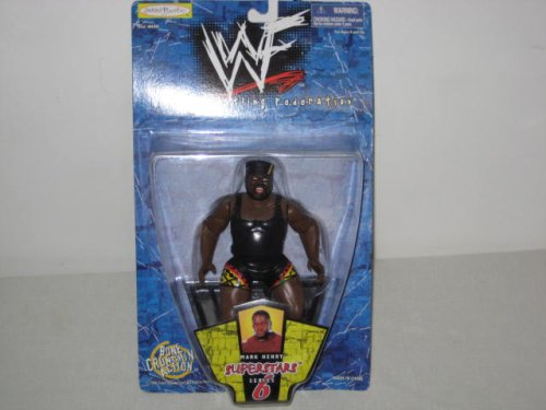 WWF Mark Henry Action Figure Superstars Series 6 - 1