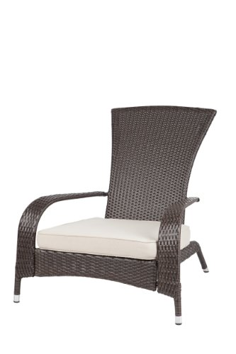 Patio Sense Coconino Wicker Adirondack Chair picture