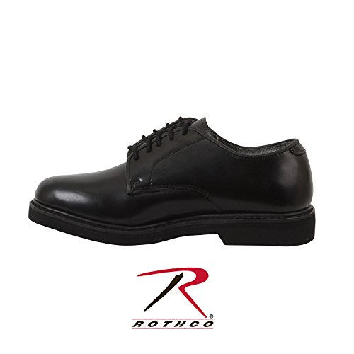 Rothco Soft Sole Uniform Oxford/Leather Shoe, Black, 13 (Women Army Uniforms)