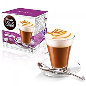 Purchase Nescafe Dolce Gusto Caramel Chococino (Pack of 6, 96 Pods) from Nestle