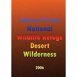 Cabeza Prieta National Wildlife Refuge Desert Wilderness