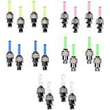 Cosmos ® 10 Pack of Led Flash Tyre Wheel Valve Cap Light For Car Bike Bicycle Motorbicycle Wheel Light Tire (Red, Yellow, Blue, Green, Colorful)