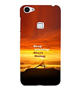 PRINTVISA Quotes Motivation Case Cover for VIVO X6