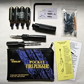 Stop & Go International Tubeless Tire Plugger with CO2 1001