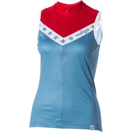 Buy Low Price Maloja AnitaM. Jersey – Sleeveless – Women's (B0087KT9UM)