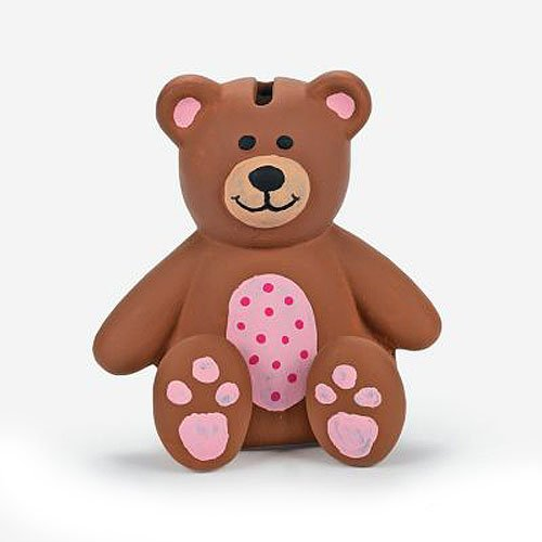 Design Your own Ceramic Teddy Bear Banks (1 dz)
