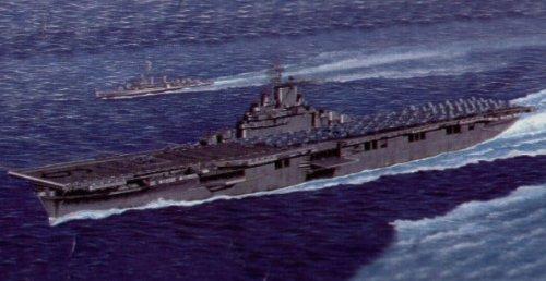 Trumpeter 1/350 U.S. Aircraft Carrier CV-9 Essex # 05602