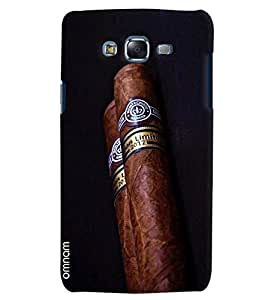 Omnam Special Cigar Printed Designer Back Cover Case For Samsung Galaxy J5