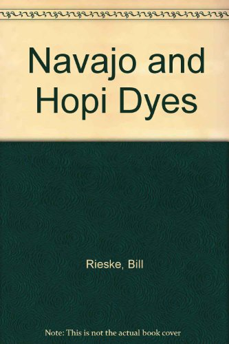 Navajo and Hopi Dyes