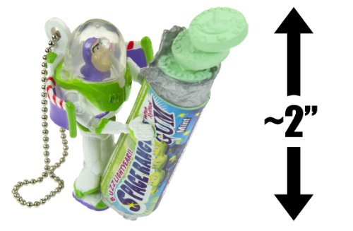 "Buzz Lightyear & Gum (~2""): Toy Story / Pixar ""Pop Snack"" Mascot Mini-Figure Charm - Not Edible [#5] (Japanese Import) front-897693"