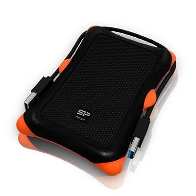 Silicon Power 500GB 2.5-Inch USB 3.0 External Portable Hard Drive (Black)