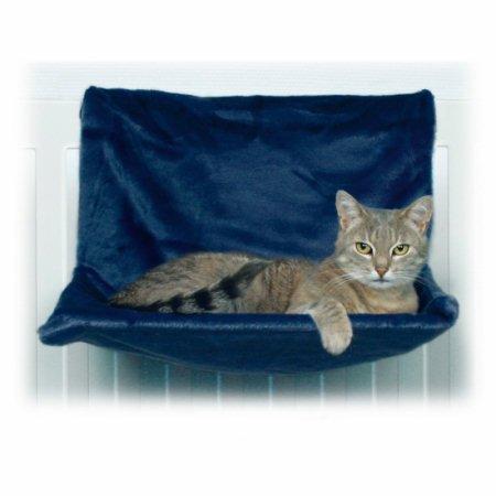 trixie lit radiateur peluche blanc 45 24 31 cm pour chat nos amis les animaux. Black Bedroom Furniture Sets. Home Design Ideas