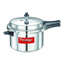 Prestige Popular Aluminium Pressure Cooker, 5.5 Litres