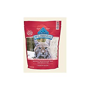 Blue Buffalo Wilderness Grain Free Dry Cat Food, Salmon Recipe, 11-Pound Bag