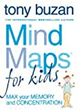 Tony Buzan Mind Maps - Set of 2 Books by Tony Buzan (Titles: Mind Maps for kids: An Introduction, Mind Maps for kids: Max your Memory and Concentration)