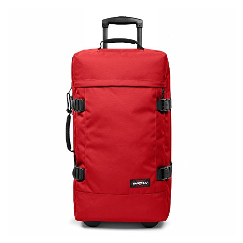 Eastpak Tranverz M Valigia, 66 cm, 78 L, Apple Pick Red