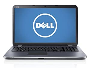 Dell Inspiron 17 (3721) i17RV-5545BLK 17.3-Inch Laptop (Black Matte with Textured Finish)