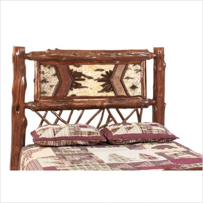 Fireside Lodge 1004 Adirondack Twig Style Headboard Size: King