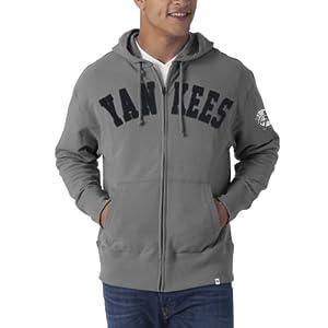 MLB New York Yankees Gametime Scrimmage Full Zip Fleece Hoodie by
