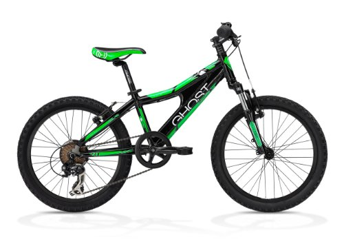 Ghost Kinderfahrrad Powerkid 20 Boy black/white/green (2013)
