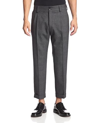 Dolce & Gabbana Men's Slim Fit Cropped Trouser