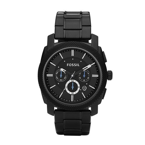 Fossil, Man's Chronograph, Man's Dress, FS4552, Black