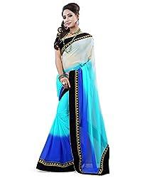 Gajanand Fashion Point Designer Multi Color Saree