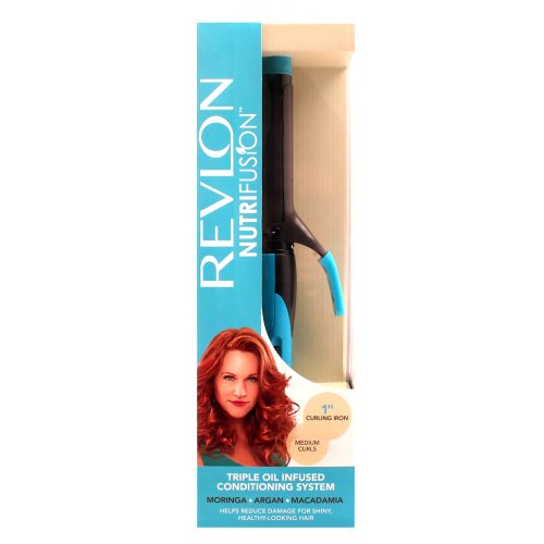 Revlon NutrifusionConditioning Curling Iron, 1 inch