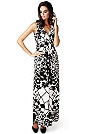 Per Una Crossover V-Neck Floral Maxi Dress