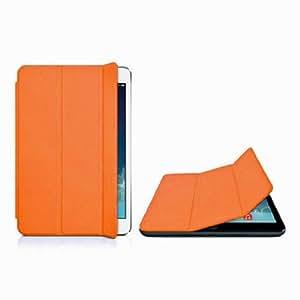 LUPO Couverture de haute qualité à puce avec support pour Apple iPad Mini - Orange