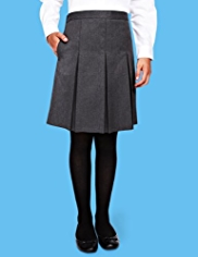 Girls 2 Pack Pleated Skirt