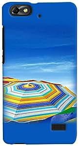 PrintVisa Travel Beach Case Cover for Huawei Honor 4C