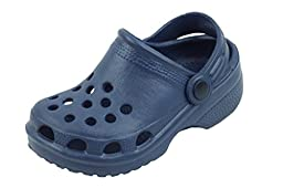 New Toddler\'s Navy Garden Shoes Clog Sandals Size 8